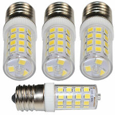 4-Pack 110V E17 Dimmable LED Light Bulb Cool White for GE WB36X10003 Replacement