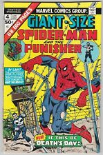 Giant-Size Spider-Man #4 F+ 6.5 Spider-Man The Punisher Ross Andru Art!