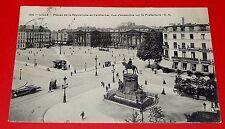 CPA CARTE POSTALE 1909 FONTAINEBLEAU LILLE NORD 59 PLACE REPUBLIQUE FAIDHERBE