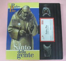 VHS film PADRE PIO Il santo della gente 1999 FAMIGLIA CRISTIANA (F92) no dvd