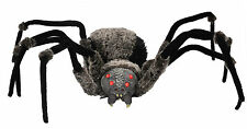Halloween Lifesize GIANT SPIDER WITH RED LED EYES Prop Haunted House NEW