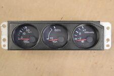 JDM NISSAN SKYLINE GTR R33 TRIPLE POD GAUGES JDM OEM RB26 GTR  CARBON FIBER
