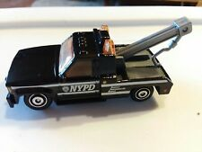 NYPD POLICE  GMC WRECKER TOW TRUCK   NEW LOOSE 1/72 DIE-CAST MATCHBOX