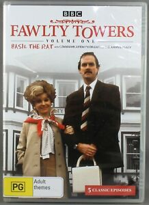 """FAWLTY TOWERS - BASIL THE RAT : VOLUME 1 (DVD, 2007) BRAND NEWSEALED """"REGION 4"""""""