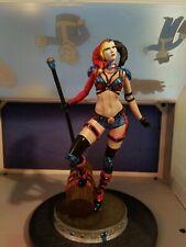 3D Printed Hand Painted Harley Quinn