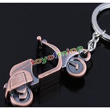 Schlüsselanhänger Mini Motorrad Biker Schlüsselband Schlüsselring