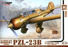 PZL 23 B Karas WW II BOMBER (POLISH AF MARKINGS) 1/48 Mirage RARE