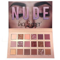 18 Colors Beauty Nude Eye Shadow Palette Shimmer Matte Pigment Eyeshadow Makeup