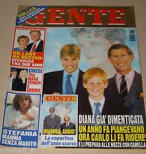 GENTE=1998/36=WILLIAM AND HARRY=VIESPOLI=PAMBIERI=FRIZZI=D'URSO=MAX BIAGGI=
