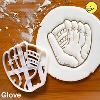 Softball Glove Cookie Cutter |team sport game party coach pitcher home run party