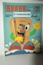 RIVISTA SUPER COMMODORE ANNO 2 NUMERO 7 LUG/AGO 1985 USATA BUONO ITA FR1 54757