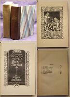 Conrad Ferdinand Meyer Sieben Novellen 1924 Belletristik Literatur sf