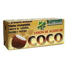 2X - Coconut Oil Soap 100g/ Helps dryness, celulite, sagging/stretch marks Jabon