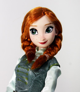 Disney Store Original Anna Ice Skating Frozen Luxury Doll, Gift wrapped