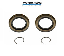 Set of 2 Front Axle Shaft Seals Reinz 15 33501 01 for BMW F01 F02 F10 E46