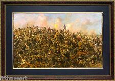 Custer's Last Stand by Edgar Samuel Paxson Custom Framed Finest Quality Print
