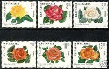 BULGARIA FLOWLERS ROSES SCOTT 3845-3850 MNH s3433