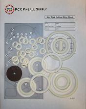 1971 Gottlieb Star Trek Pinball Machine Rubber Ring Kit