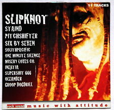 SLIPKNOT SPIT IT OUT promo cd compilation Staind PITCHSHIFTER Rock Sound