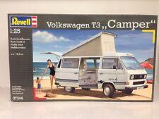 "+++ REVELL Volkswagen t3 ""CAMPER"" 1:25 07344"