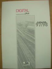 LENZ ELEKTRONIK DIGITAL PLUS MODEL RAILWAY SYSTEM CATALOGUE 1997/98