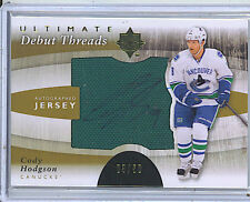 Cody Hodgson 11-12 UD Ultimate Debut Threads Rookie Autograph Jersey /50