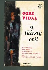 A Thirsty Evil by Gore Vidal 1958 Paperback 1st Printing