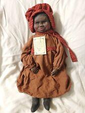 "Maynard Arnett's Country store Primitive Black Americana Doll ""Pansy"" 39/250"