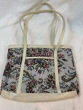 Amanda Smith Handbag Floral Print, Shoulder Strap, Leather Trims 466