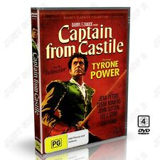 Captain from Castile 1947 : Tyrone Power, Jean Peters : New DVD