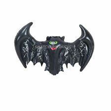 2 Halloween Inflatable Bat Decorations Prop Hanging Garden Childrens Party Toy