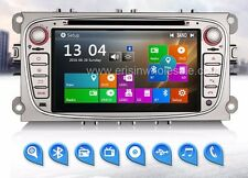 "AUTORADIO Touch Navigatore Gps 7"" Ford Focus Mondeo C-max Galaxy Dvd Mp3 DVD Cd"