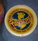OLD Schlitz Beer reverse light up face.see my other porcelain neon sign auctions