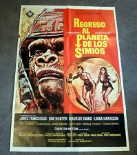 Vintage Spanish MOVIE POSTER-Beneath the PLANET of the APES-approx 24x33