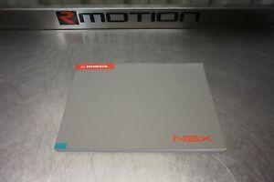 Genuine Honda UKDM OEM NSX NA1 NA2 Colour Glovebox Manual