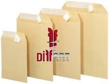 Enveloppes kraft pochette brune 90gr auto-adhèsive avec bande détachable C4,C5..