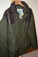 "Barbour Highfield Quilted Quality Jacket 38/40"" Chest Last One"