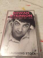ROWAN ATKINSON VERY BEST OF LIVE LAFFC1 Cassette Comedy