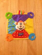 Nuby Dog Baby Blanket Comforter Blankie Toy Soft  Dou dou Flat Teething Soother