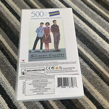 New Sixteen Candles Blockbuster 500 Piece Jigsaw Vhs Case Puzzle Movie Retro
