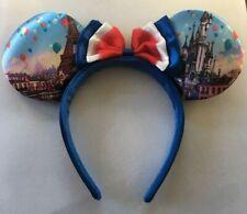 Disneyland Paris Disney Minnie Ears Castle Eiffel Tower Headband Mickey - Rare!