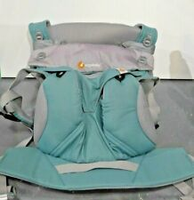 Ergobaby Four-Position 360 Cool Air Baby Carrier, Icy Mint, w/ Easy Snug Insert