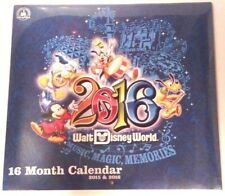 Walt Disney World Limited Edition 2016 Music, Magic, Memories 16 Month Calendar