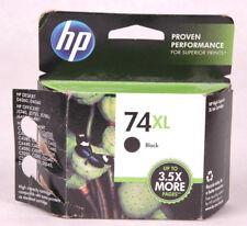 HP 74XL High Capacity Black Original Ink Cartridge, In Retail Box, 2014