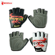 Boodun Half Finger Cycling Gloves Padded Bike Bicycle Cycle Outdoor Sport Gloves