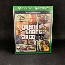 Grand Theft Auto IV (4) (Xbox 360 / Plays on Xbox One) BRAND NEW