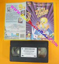 film VHS TITTI TURISTA TUTTOFARE LOONEY TUNES 2001 WARNER PIV 18246(F53**)no dvd