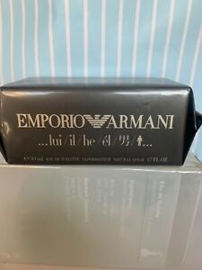 Emporio Armani He Eau de Toilette Spray Sealed 1.7 Oz For Men