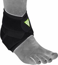 Rdx Mma Support Ankle Brace Foot Guard Injury Bandage Sport Running Boxing Wrap