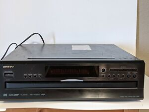 ONKYO DX-C390 6 Disk CD Player Compact Disc Changer No Remote - Tested Turns On